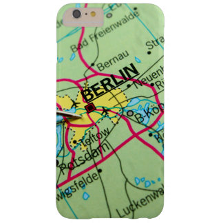 Pin placed on map in Berlin, Germany Barely There iPhone 6 Plus Case