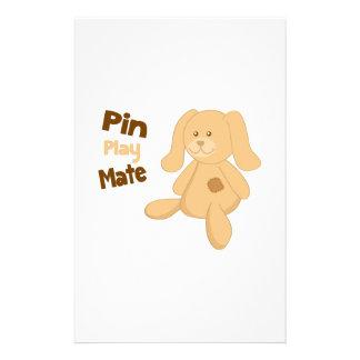 Pin Play Mate Stationery