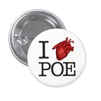 """Pin """"Poe Heart"""""""