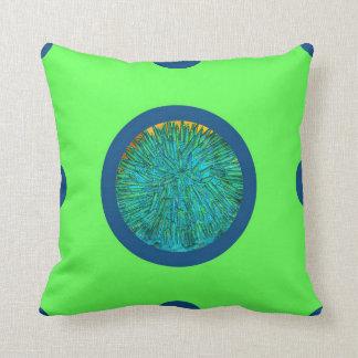 Pin&Pon Popbluer Throw Pillow