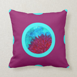 Pin&Pon Poperired Throw Pillow