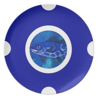 Pin&Pon Popnomeus Melamine Plate