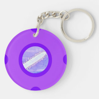 Pin&Pon Poprici Double-Sided Round Acrylic Keychain