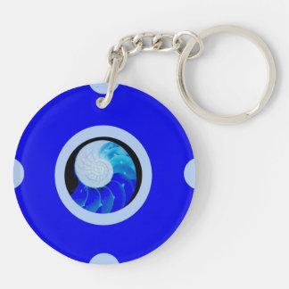 Pin&Pop Popar Double-Sided Round Acrylic Keychain
