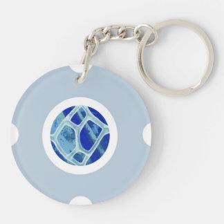 Pin&Pop Popcir Double-Sided Round Acrylic Keychain