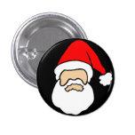 Pin principal de la insignia del botón de Santa
