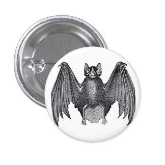 Pin punky gótico del botón del palo del vintage