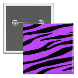 Pin púrpura y negro de la cebra