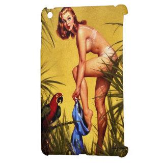 Pin retro de la selva de Gil Elvgren del vintage