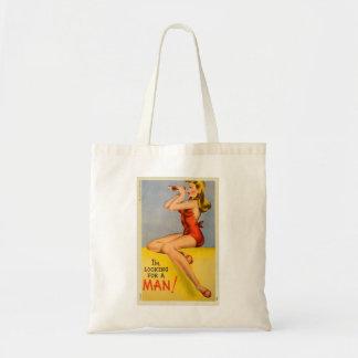 Pin retro del kitsch del vintage encima de la post bolsa