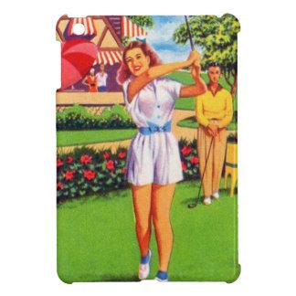 Pin retro del kitsch del vintage para arriba Golfi