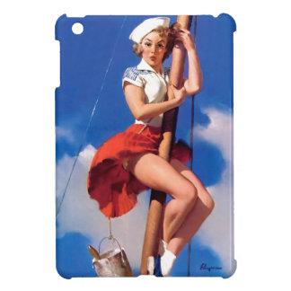 Pin retro del marinero de Gil Elvgren del vintage
