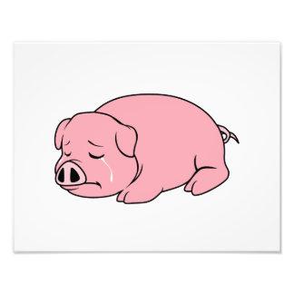 Pin rosado gritador de la almohada de la taza de fotografía