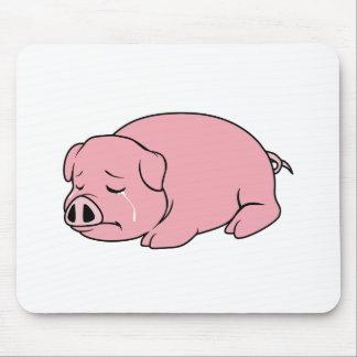 Pin rosado gritador de la almohada de la taza de alfombrilla de raton