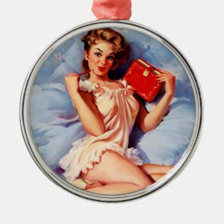 Pin secreto de Gil Elvgren del diario del vintage  Ornamentos De Reyes