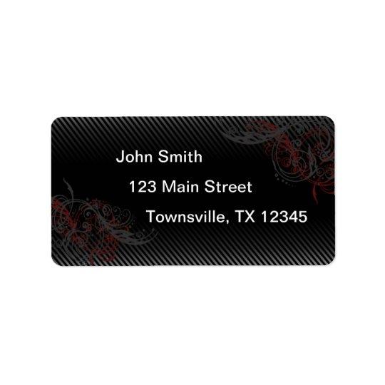 Pin Stripe Label