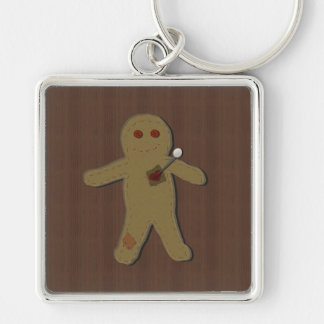 Pin the Curse on the Voodoo Doll Keychain