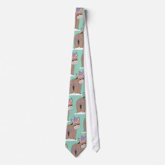 Pin the Tail Donkey Silky Mens' Neck Tie