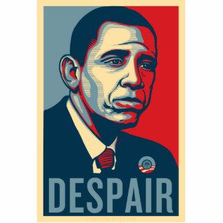 Pin triste de Obama Escultura Fotográfica