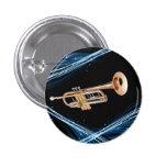 Pin trompeta pin redondo 2,5 cm