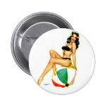 Pin up Beach button