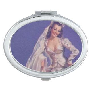 Pin Up Bride Mirror
