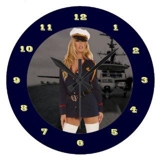 Pin Up Clock