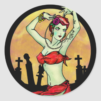 Pin Up Ghoul stickers