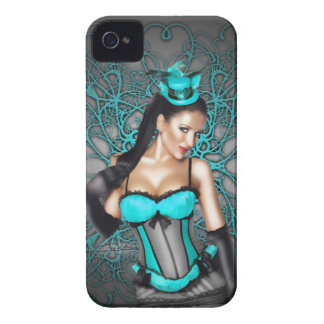 Pin-up girl Cherie Cairo by Chadin » Case-Mate iPhone 4 Case