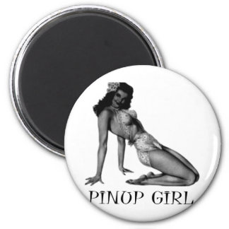 Pin UP Girl Cool Design! Magnet