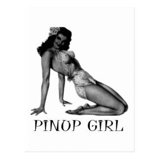 Pin UP Girl Cool Design! Postcard
