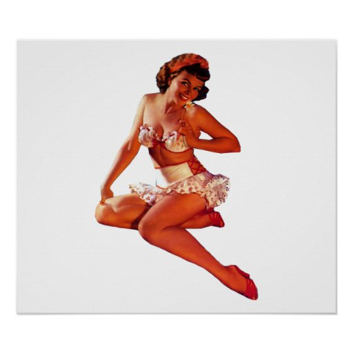 Pin Up Girl Posters