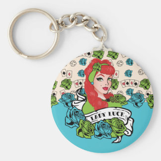 Pin-up Girl, Rock-A-Billy Keychain