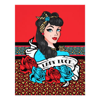 Pin-up Girl, Rock-A-Billy Letterhead