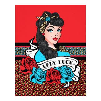 Pin-up Girl, Rock-A-Billy Letterhead