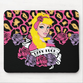 Pin-up Girl, Rock-A-Billy Mouse Pad