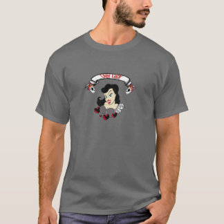 Pin up girl tattoo T-Shirt