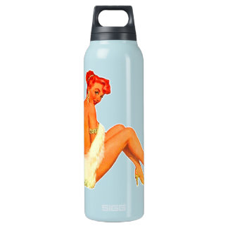 Pin Up Girl Thermos Bottle