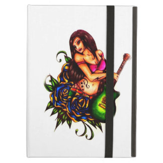 Pin up Girl with Guitar iPad Air Covers