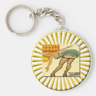 Pin Up Girls Keychain