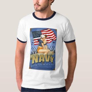 Pin Up Join The Navy Shirt