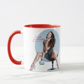 Pin Up Legs Goddess Mug
