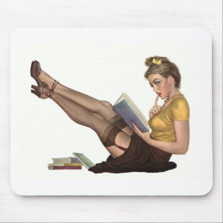 Pin up mouse pad