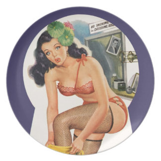 Pin-Up Plate