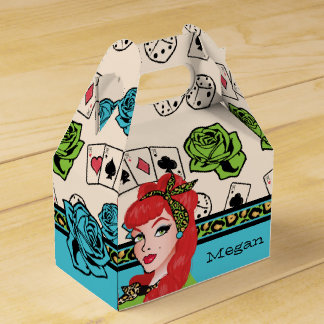 Pin-up, Rock-A-Billy Favor Box