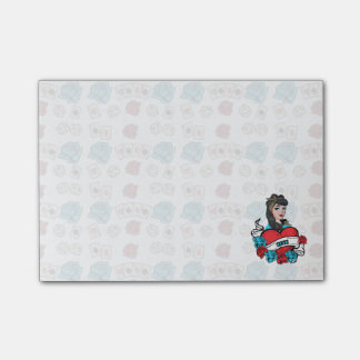 Pin-up, Rock-A-Billy Post-it® Notes