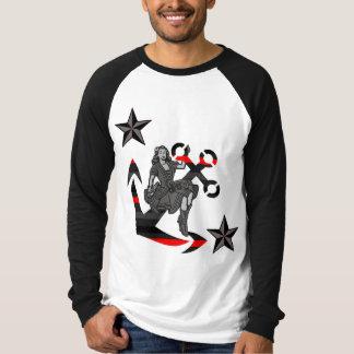 Pin up Sailor Girl T-Shirt