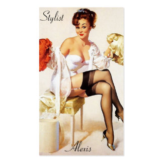 Pin up Stylist Profile Cards