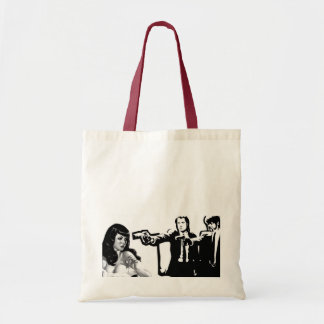 Pin up threatened by Vincent Vega Tote Bag