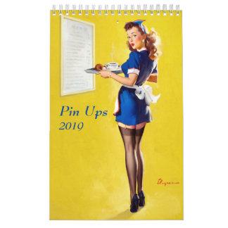 Pin Ups 2019 Calendar